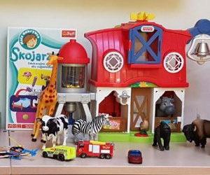 Zabawki dla dzieci-pacjentów ICZMP w Łodzi