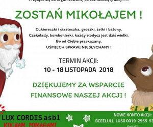 """Akcja """"Zostań Mikołajem"""" – podsumowanie"""