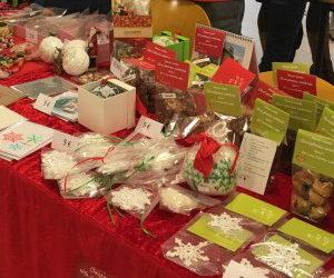 Bazar świąteczny w Komisji Europejskiej w Luksemburgu