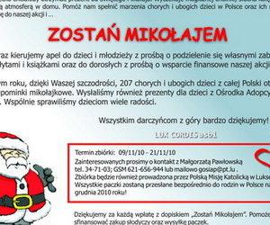 """Akcja """"Zostań Mikołajem"""" 2010"""